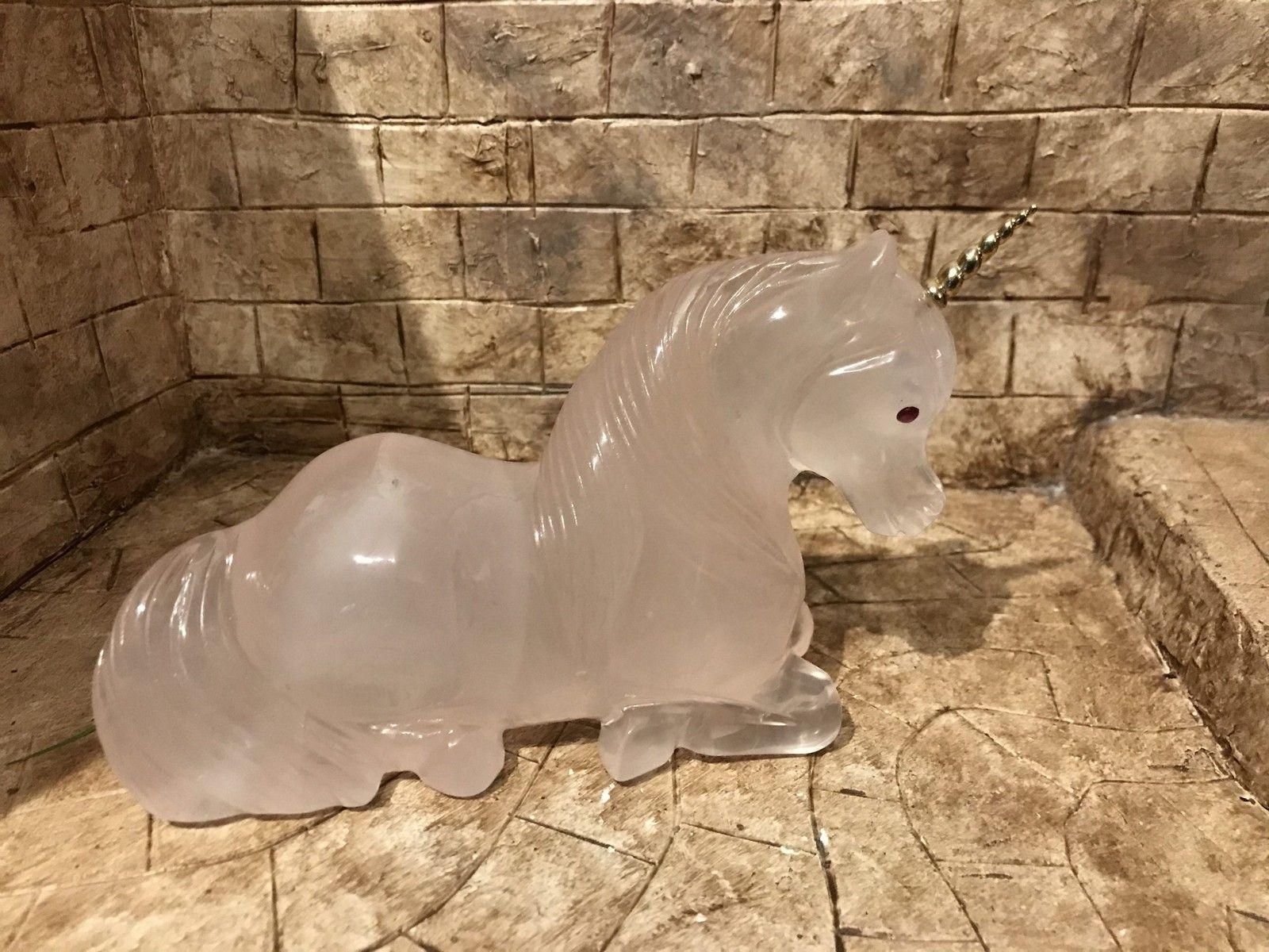 Rose Quartz Magical Unicorn