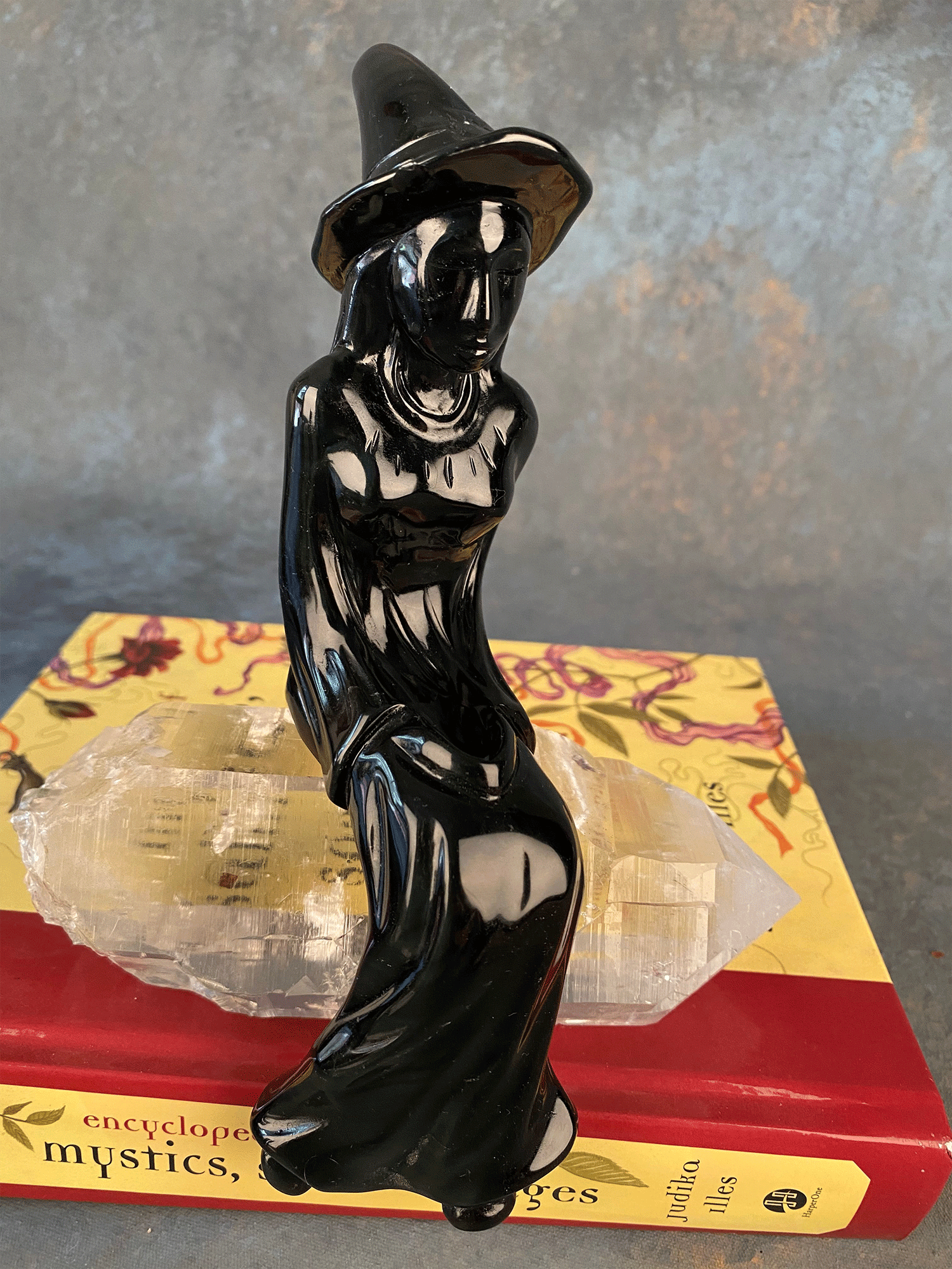 Witchy - Black Obsidian Witch