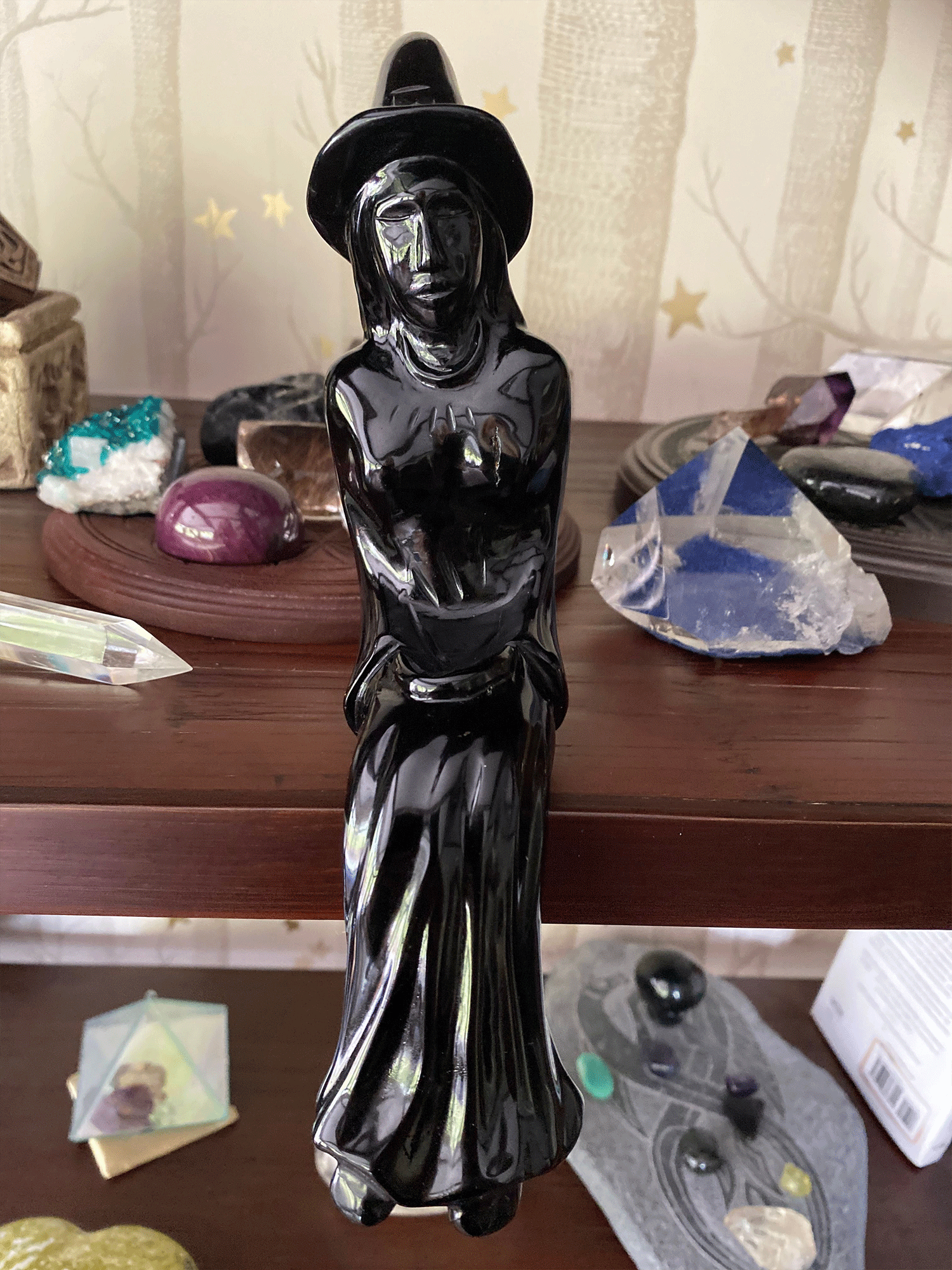 Black Obsidian Witch - The Witchy Way