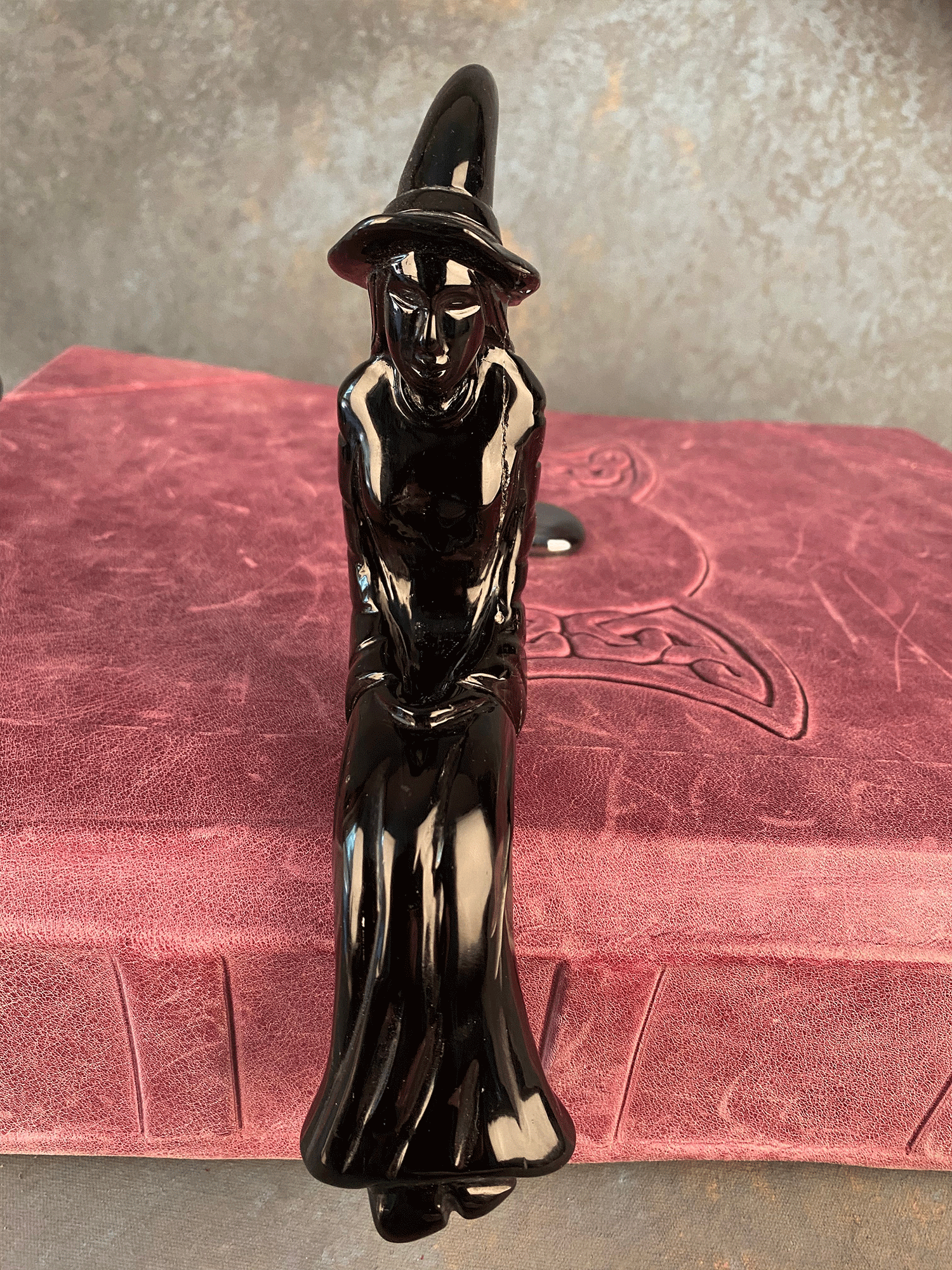 Witch - Black Obsidian Witchy