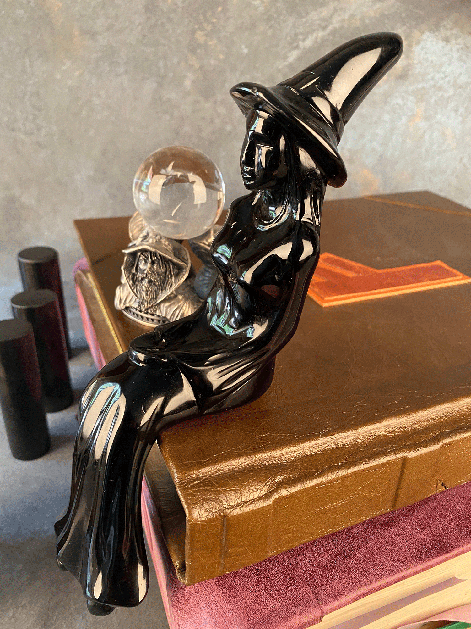 Black Obsidian Enchanted Witch - The Witchy Way