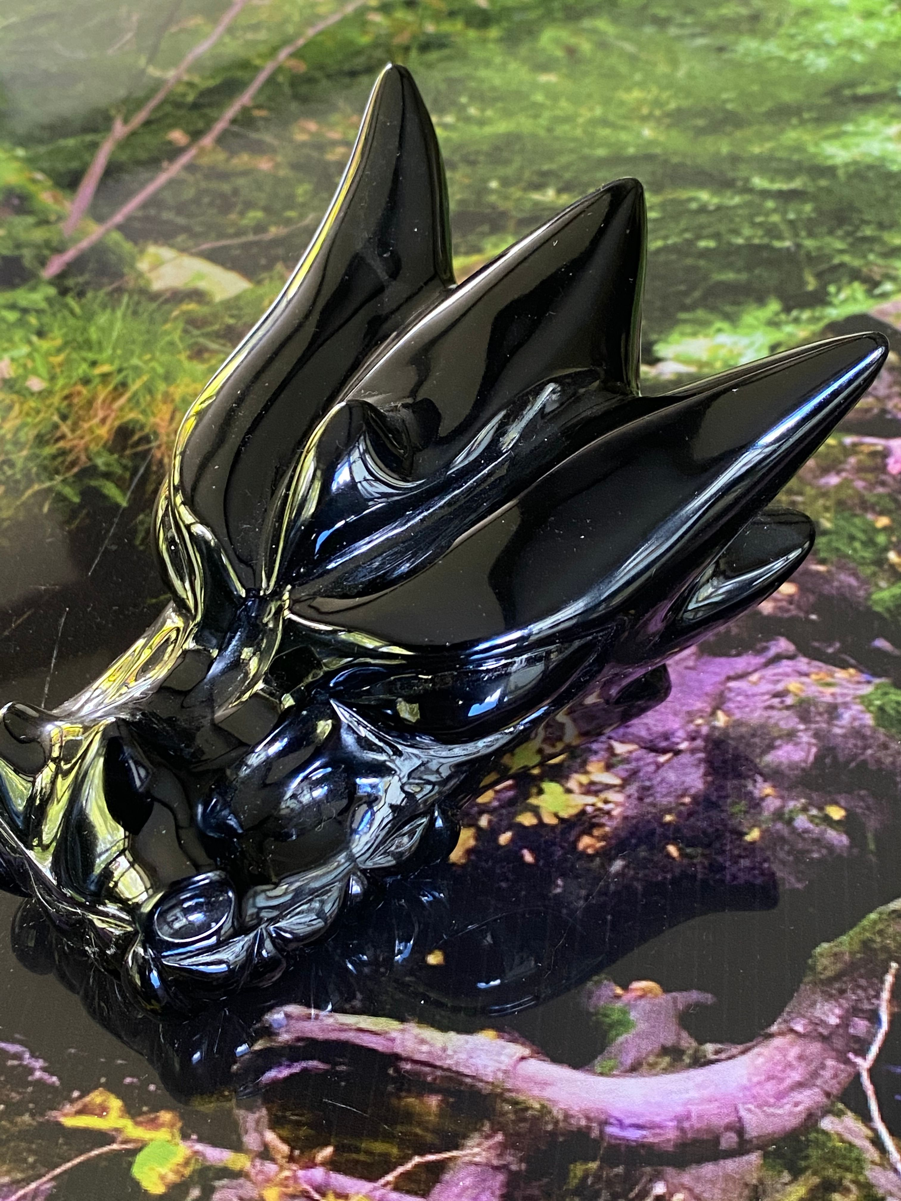 Black Obsidian Leandro Dragon