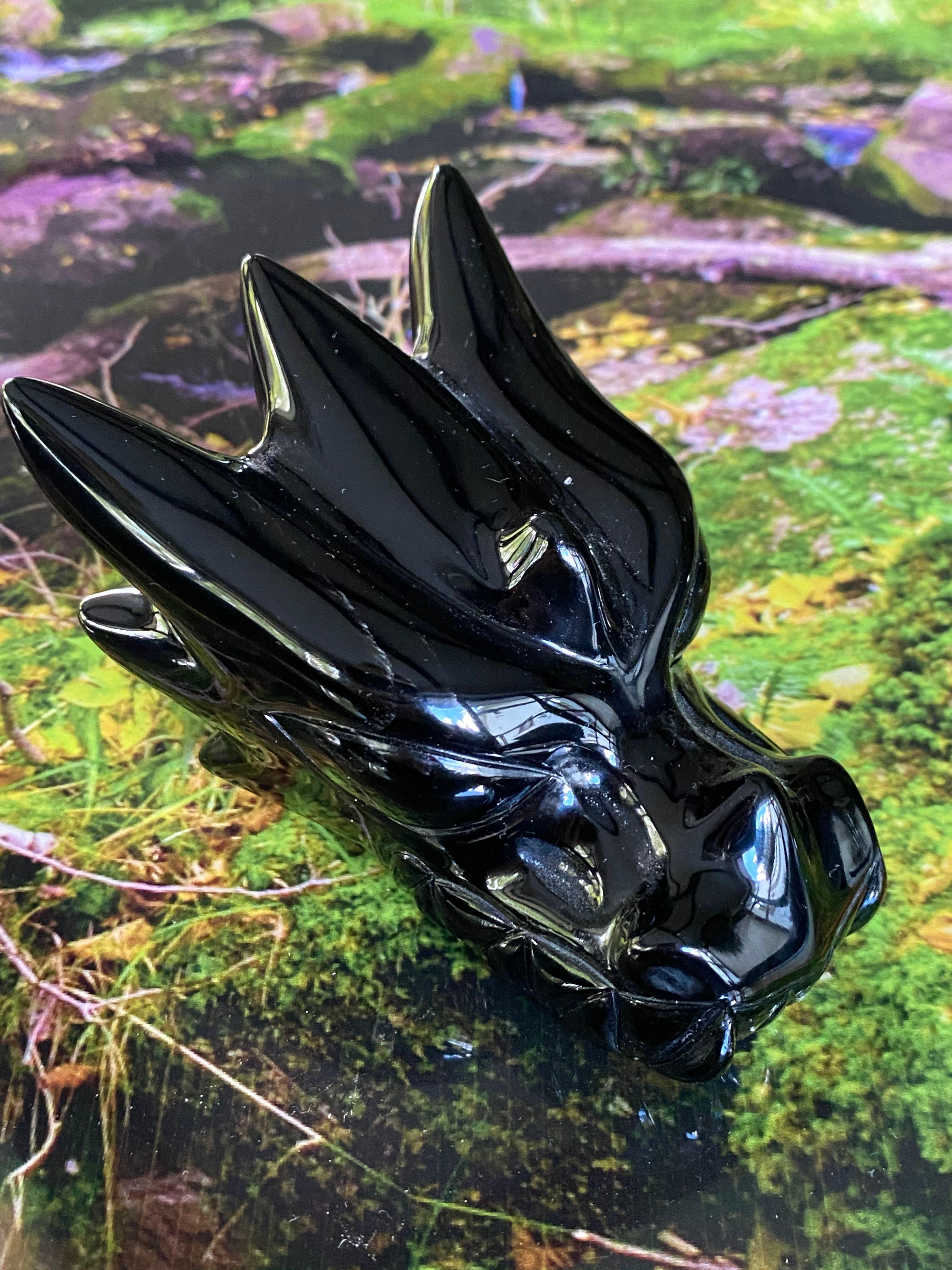 Black Obsidian Beauty Dragon