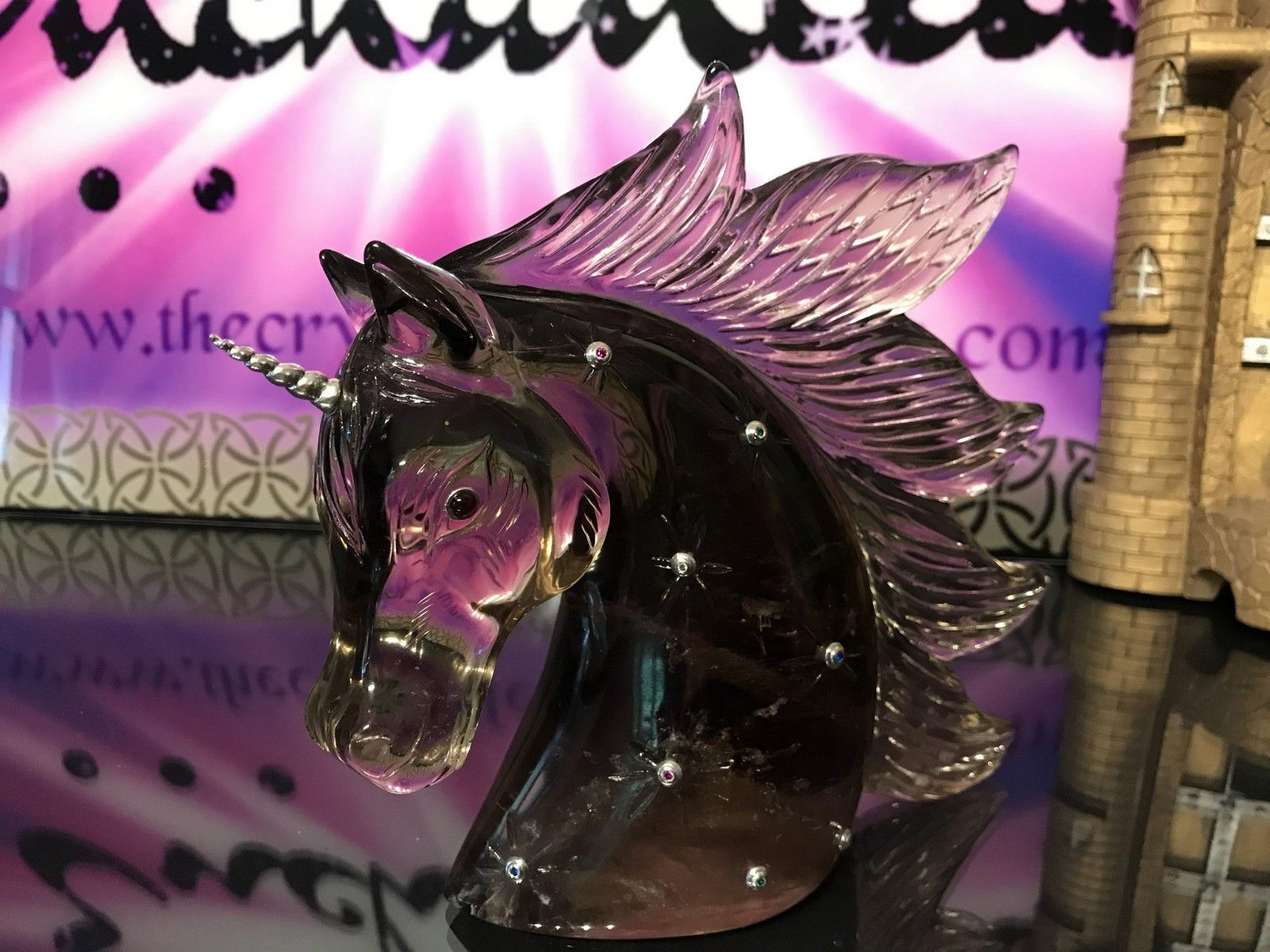 Enchanting & World Class Master Citrine Unicorn